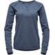 Black Diamond Attitude Longsleeve Shirt Women blue